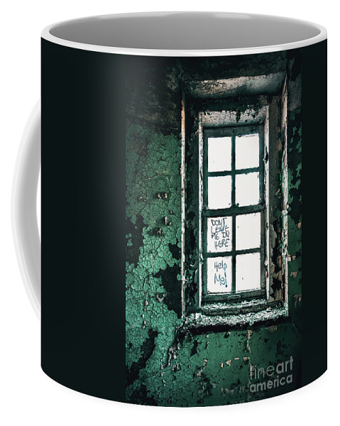 Kremsdorf Coffee Mug featuring the photograph Misery Screams by Evelina Kremsdorf