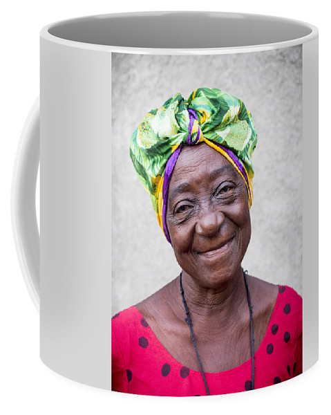 Caribbean Coffee Mug featuring the photograph Miss Cuba by Dan Leffel