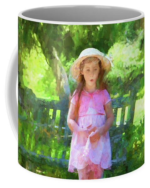 Alicegipsonphotographs Coffee Mug featuring the photograph Miss Lynnie Jean by Alice Gipson
