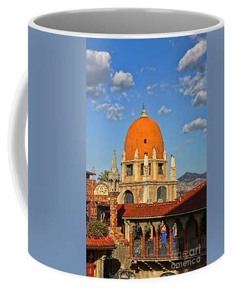 Mission Inn Coffee Mug featuring the photograph Mission Inn Dome by Tommy Anderson