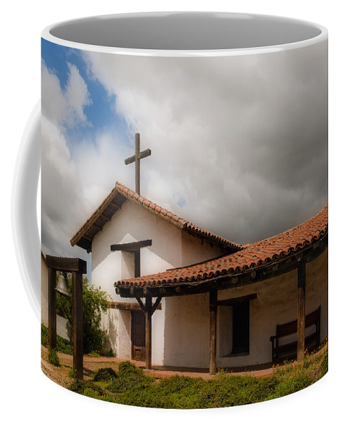 Mission Coffee Mug featuring the photograph Mission San Francisco De Solano by Mick Burkey