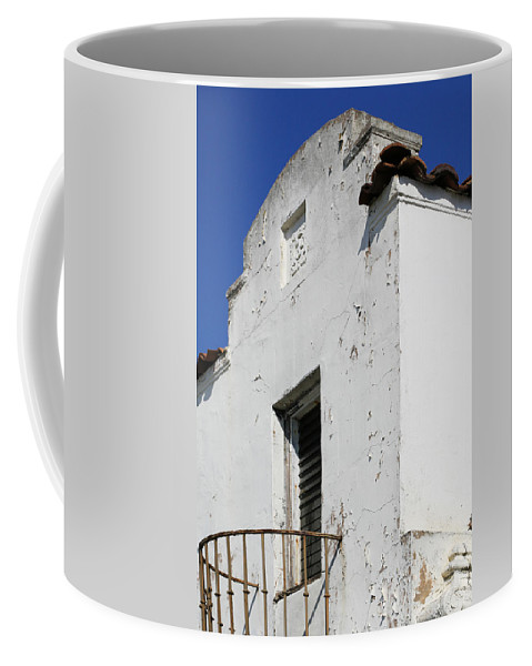 Mission Coffee Mug featuring the photograph Mission Style Architecture by Marilyn Hunt