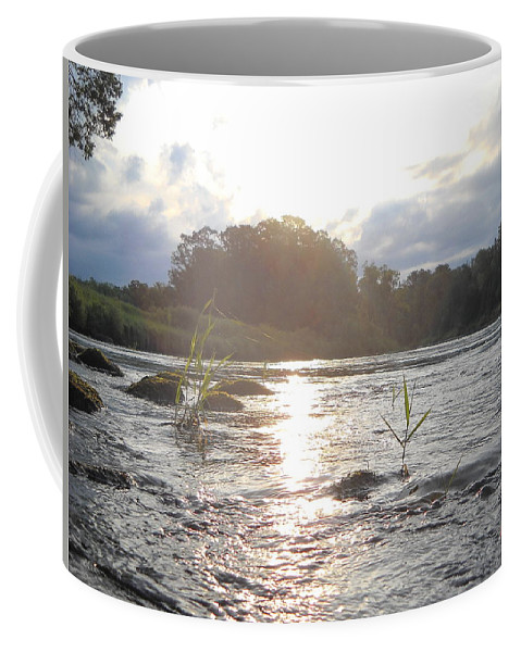 Mississippi River Coffee Mug featuring the photograph Mississippi River Victory At Sea by Kent Lorentzen
