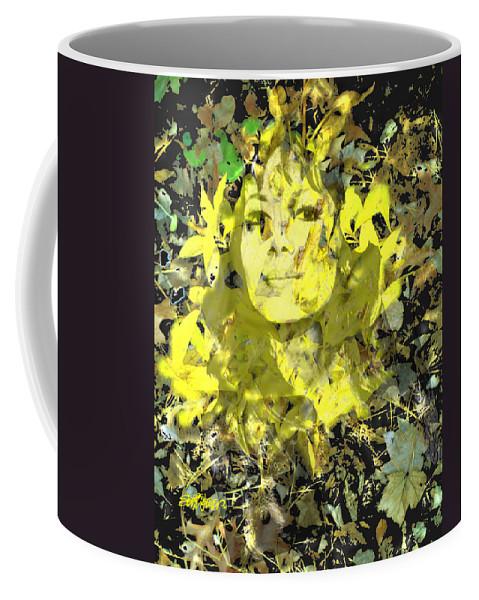 Mistress Of Autumn Coffee Mug featuring the digital art Mistress of Autumn by Seth Weaver