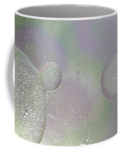 Abstract Coffee Mug featuring the photograph Mitosis by Michael Peychich