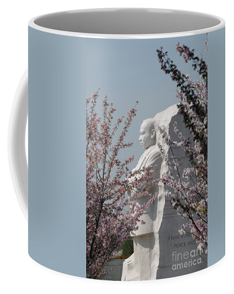 Cherry Coffee Mug featuring the photograph Mlk Blossoms by Jost Houk