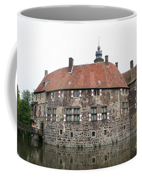 Castle Coffee Mug featuring the photograph Moated Castle Vischering by Christiane Schulze Art And Photography