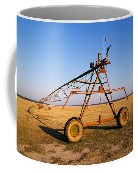 Farm Coffee Mug featuring the photograph Mobile Irrigation by Buddy Mays