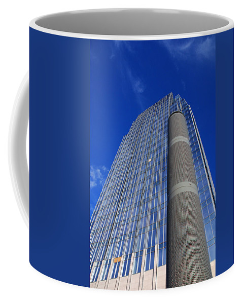 Glass Building Coffee Mug featuring the photograph Modern Architecture II by Susanne Van Hulst