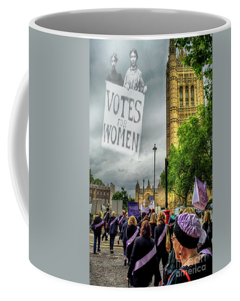 Waspi Coffee Mug featuring the photograph Modern Day Suffrage by Linsey Williams
