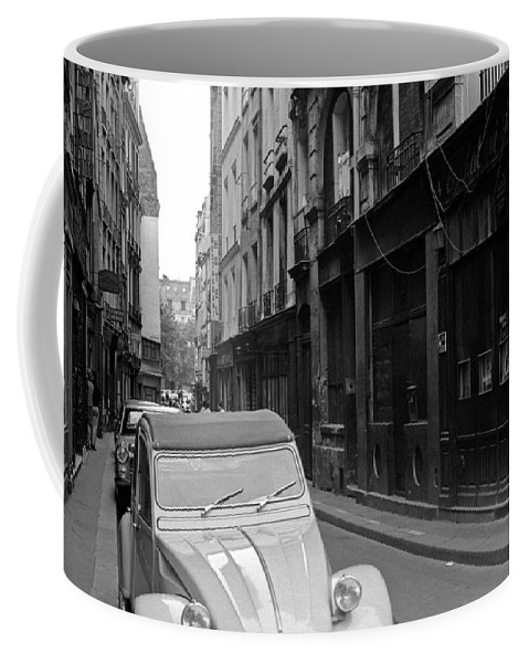 Paris Coffee Mug featuring the photograph Modern Jazz Club Latin Quarter by Lee Santa