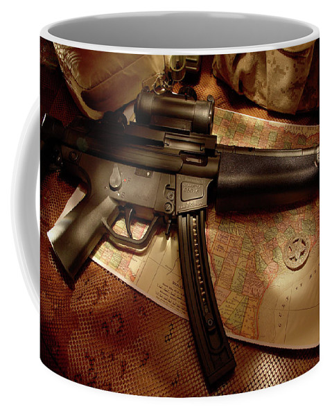 Texas Rangers Coffee Mug featuring the photograph Modern Ranger by Daniel Alcocer