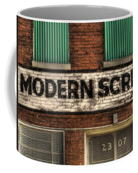 Hdr Coffee Mug featuring the photograph Modern Screw by Jane Linders