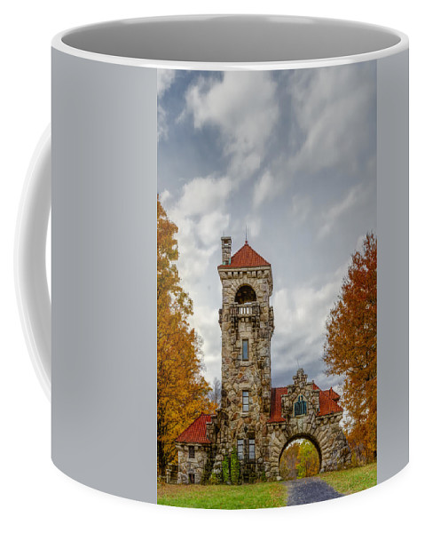Mohonk Coffee Mug featuring the photograph Mohonk Preserve Gatehouse II by Susan Candelario