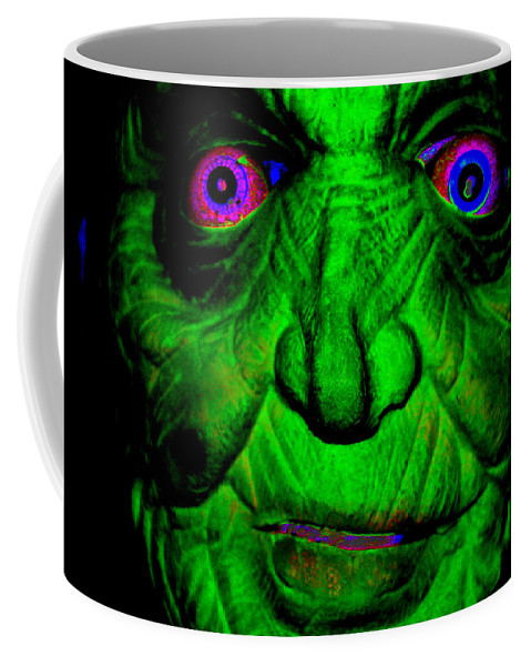 Digital Coffee Mug featuring the digital art Mokay by Steven Scanlon
