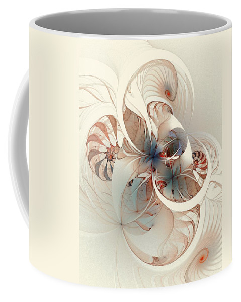 Coffee Mug featuring the digital art Mollusca by Amanda Moore