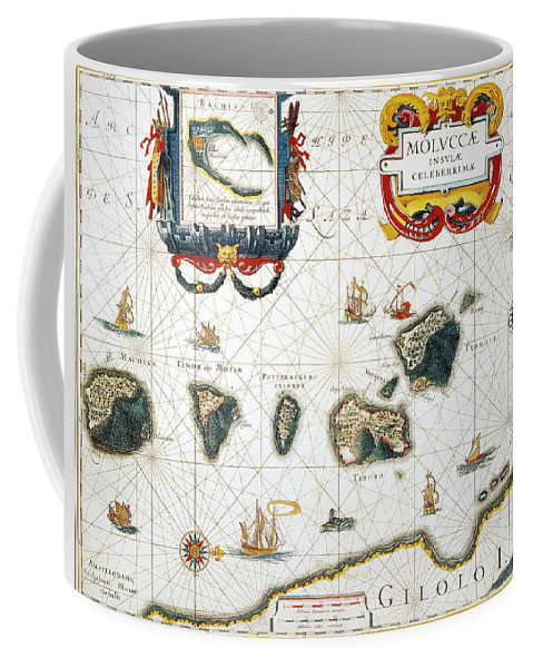 1662 Coffee Mug featuring the photograph Moluccas: Spice Islands by Granger