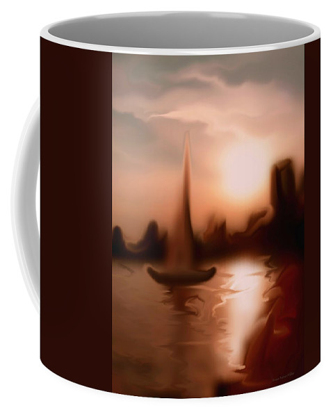 Inspirational Coffee Mug featuring the photograph Moments I Remember... by Arthur Miller