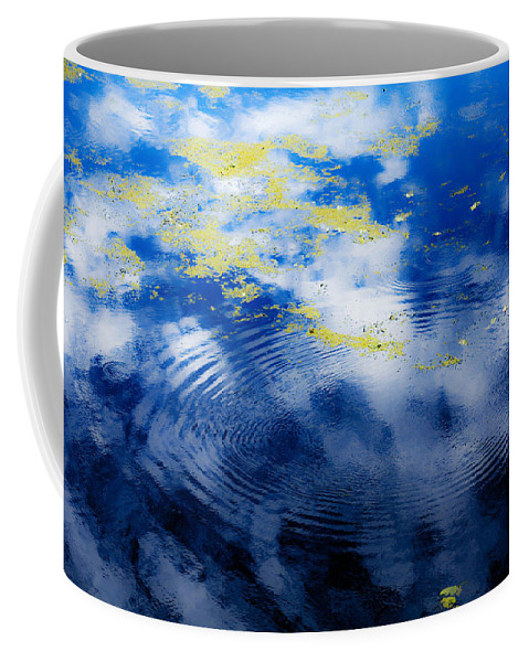 Monet Coffee Mug featuring the photograph Monet Like Water by Marilyn Hunt