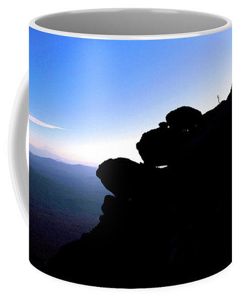 Oregon Coffee Mug featuring the photograph Monkeyface by Cher Rydberg