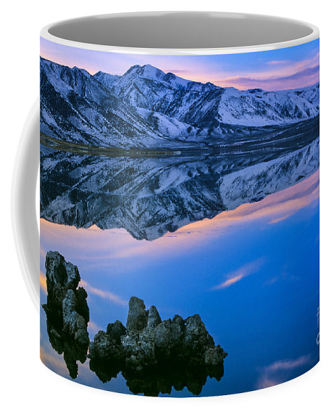 America Coffee Mug featuring the photograph Mono Lake Twilight by Inge Johnsson