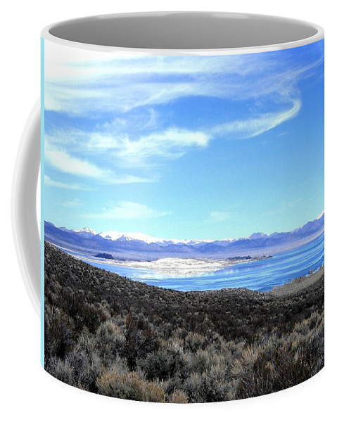 Mono Lake Coffee Mug featuring the photograph Mono Lake by Will Borden