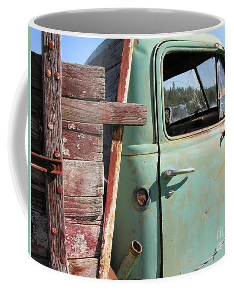 Truck Coffee Mug featuring the photograph Montana Truck by Diane Greco-Lesser