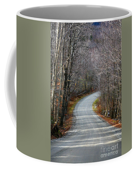 Rural Coffee Mug featuring the photograph Montgomery Mountain Rd. by Deborah Benoit