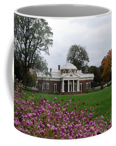 Fall Coffee Mug featuring the photograph Monticello by Eric Liller