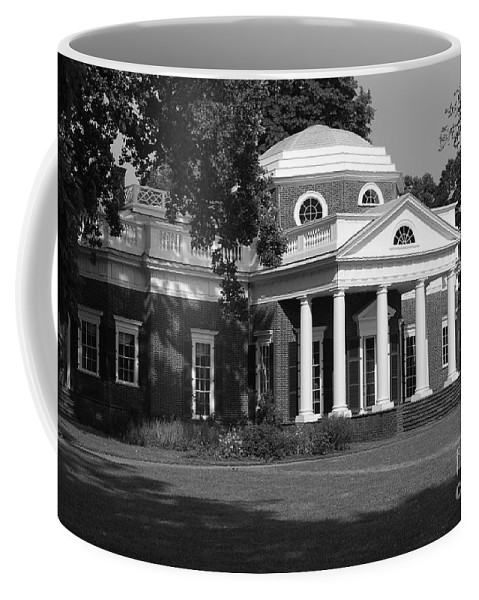 Monticello Coffee Mug featuring the photograph Monticello by Eric Liller
