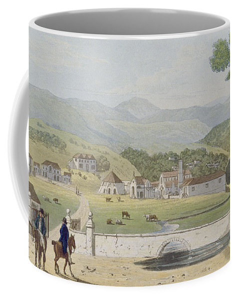Montpelier Coffee Mug featuring the painting Montpelier Estates - St James by James Hakewill
