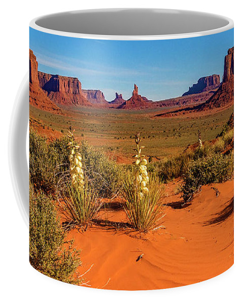 Monument Valley Coffee Mug featuring the photograph Monument Valley by Norman Hall