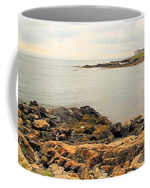 Seascape Coffee Mug featuring the photograph Moody View 2 by Robert McCulloch