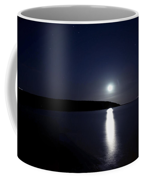 Landscape Coffee Mug featuring the photograph Moonlight by Svetlana Sewell