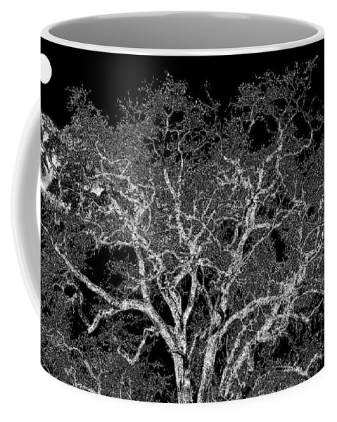 Photo Design Coffee Mug featuring the digital art Moonlit Night by Will Borden