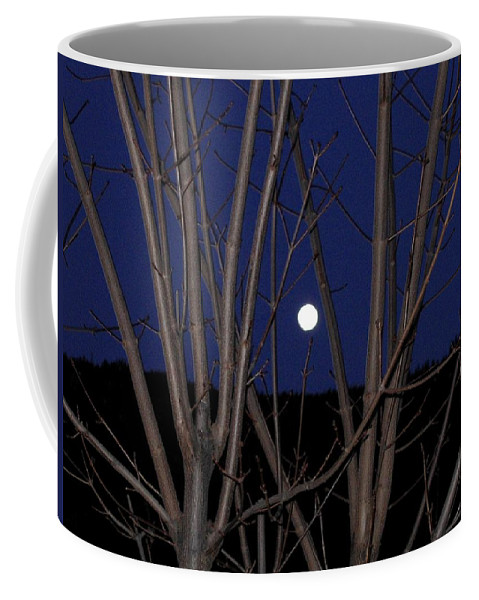 Moon Coffee Mug featuring the photograph Moonrise by Will Borden