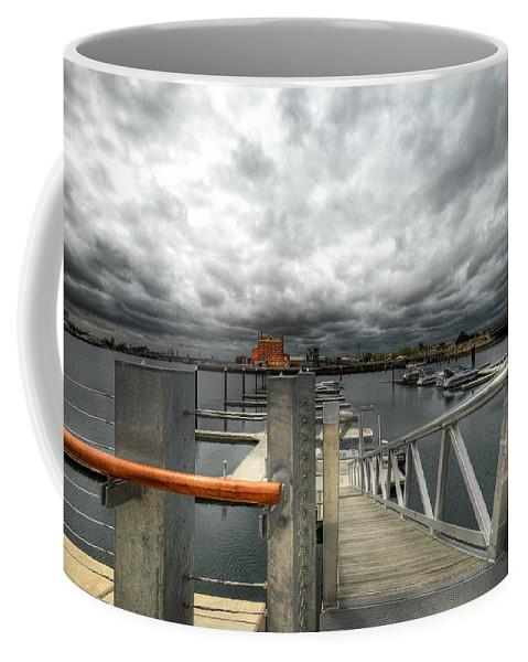 Moorings Coffee Mug featuring the photograph Moorings by Wayne Sherriff