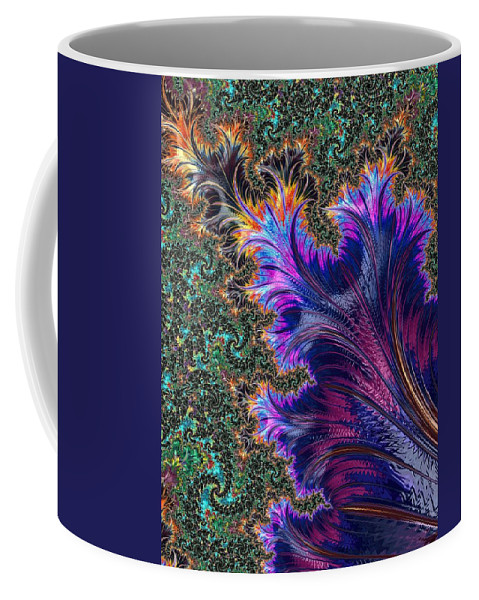 Fractal Coffee Mug featuring the photograph More Fractals by Mo Barton