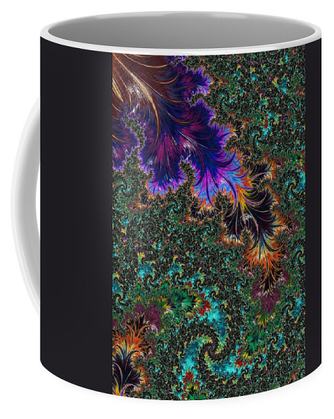Fractal Coffee Mug featuring the photograph More Fractals Two by Mo Barton