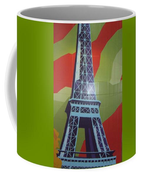 Paris Coffee Mug featuring the photograph More Parisian Murals..... by Rusty Gladdish