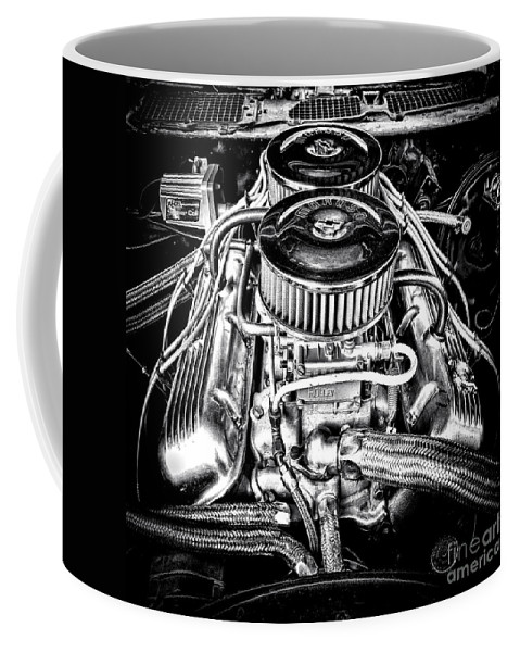 Big Coffee Mug featuring the photograph More Power by Olivier Le Queinec
