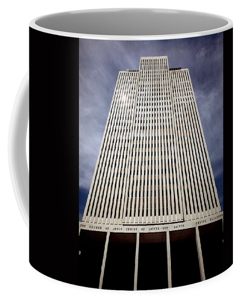 Mormon Coffee Mug featuring the photograph 212x01-mormon World Headquarters by Ed Cooper Photography