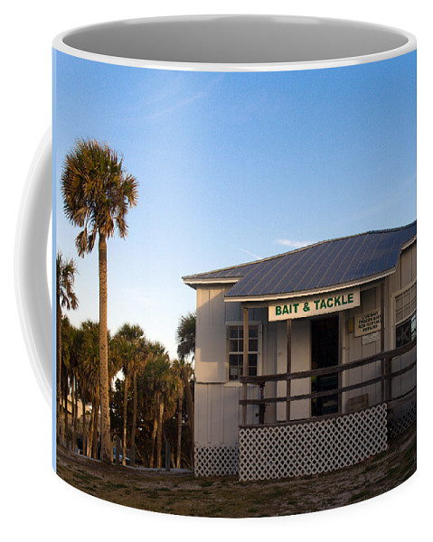 Morning Coffee Mug featuring the photograph Morning At Sebastian Inlet In Florida by Allan Hughes