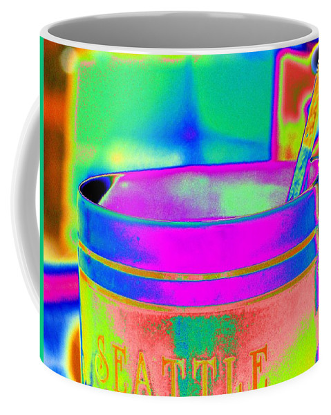 Morning Coffee Mug featuring the photograph Morning Break by Tim Allen