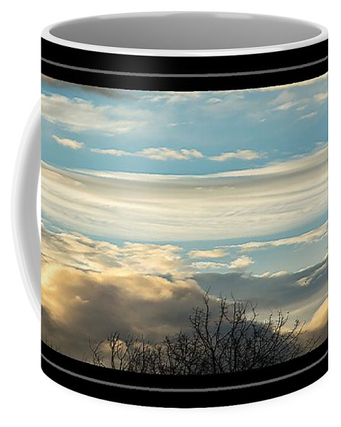 Clouds Coffee Mug featuring the photograph Morning Clouds by Sherman Perry