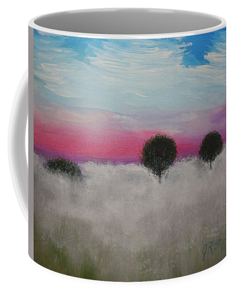 Impressionism Coffee Mug featuring the painting Morning Dew And I'm Thinking Of You by J R Seymour