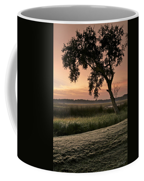 Tree Coffee Mug featuring the photograph Morning Dew by Phill Doherty