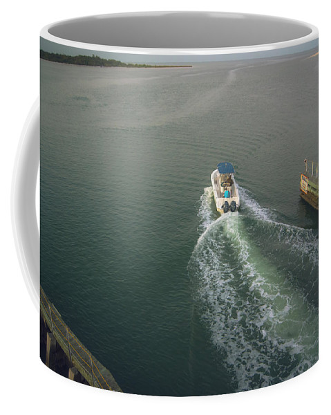 Morning Excursion Coffee Mug featuring the photograph Morning Excursion by Michael Frizzell