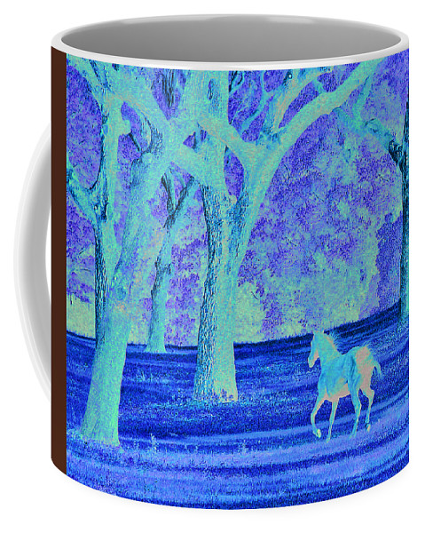 Landscape Coffee Mug featuring the photograph Morning Gallup by Adele Moscaritolo