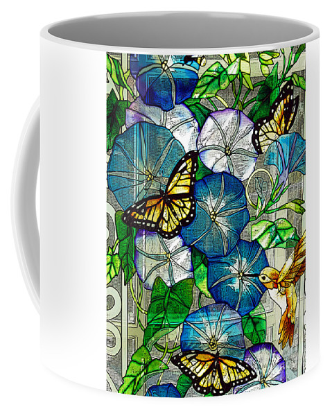 Berry Coffee Mug featuring the photograph Morning Glory by Diane E Berry